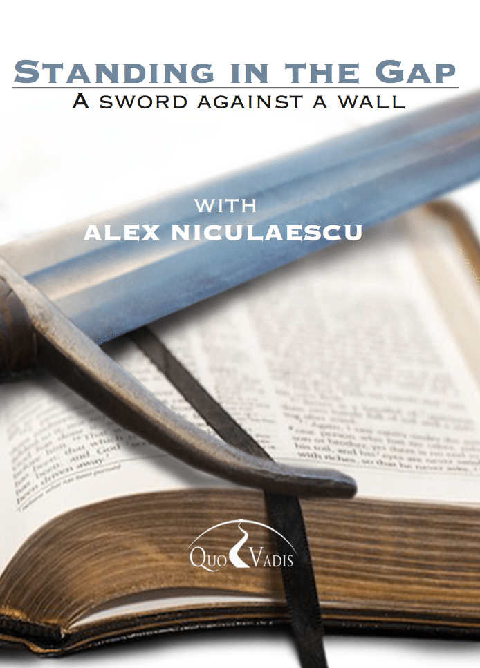 01 A Sword against a Wall by Alex Niculaescu